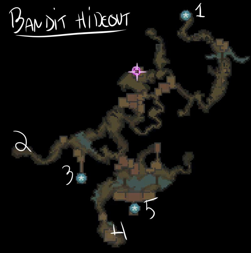 Bandit Hideout Map