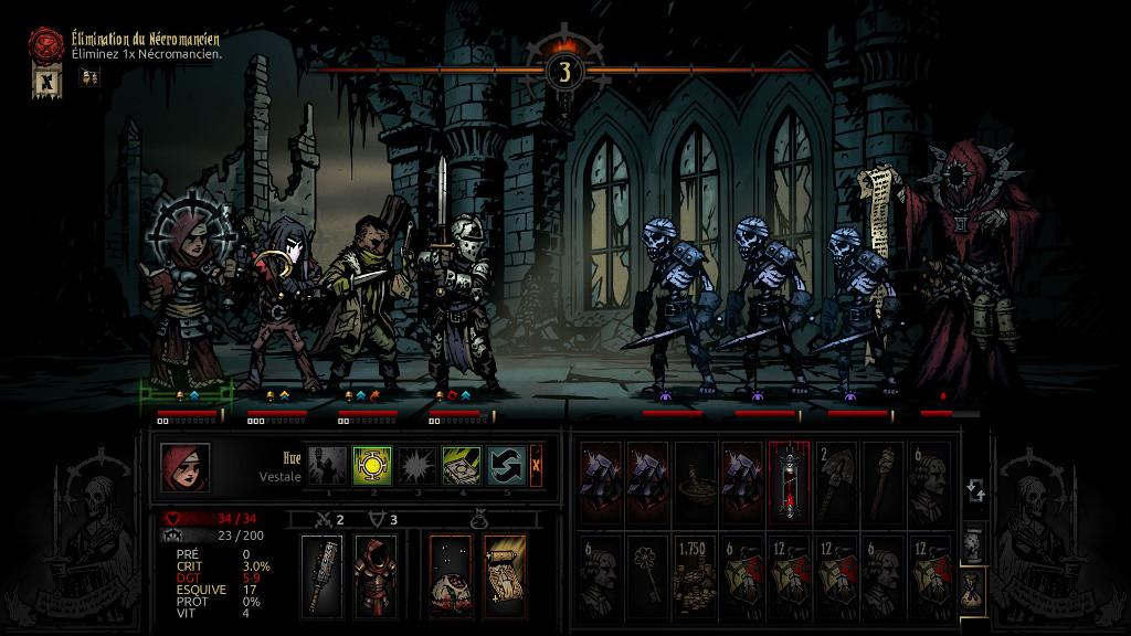 Darkest Dungeon Necromancer Boss The Lost Noob