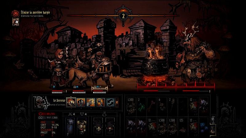 Darkest Dungeon Hag Boss