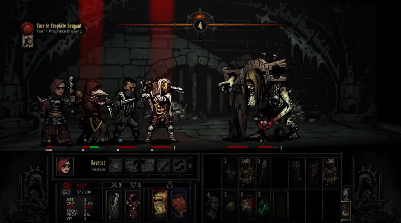 Darkest Dungeon Prophet Boss