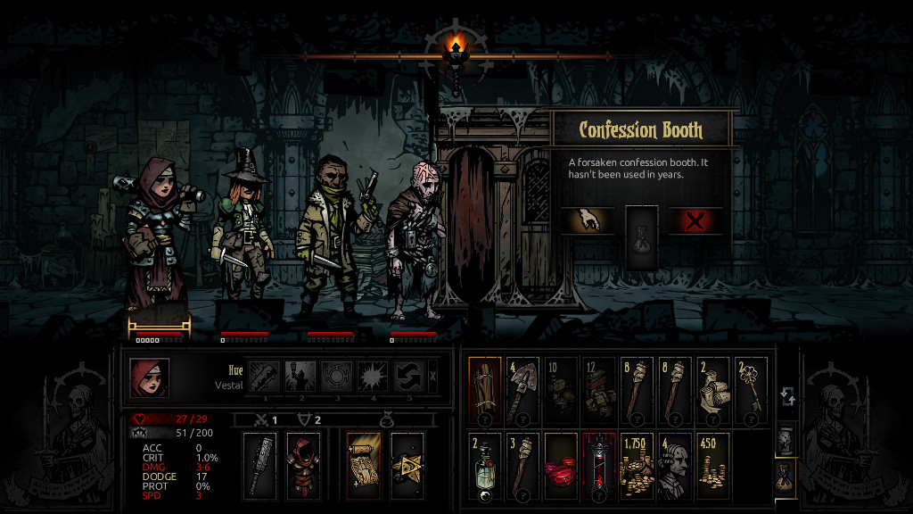 Darkest Dungeon Ruins Curios Party And Provisions The Lost Noob