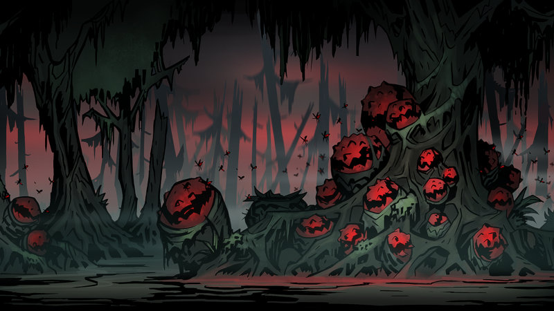 Darkest Dungeon Courtyard: Curios and provisions