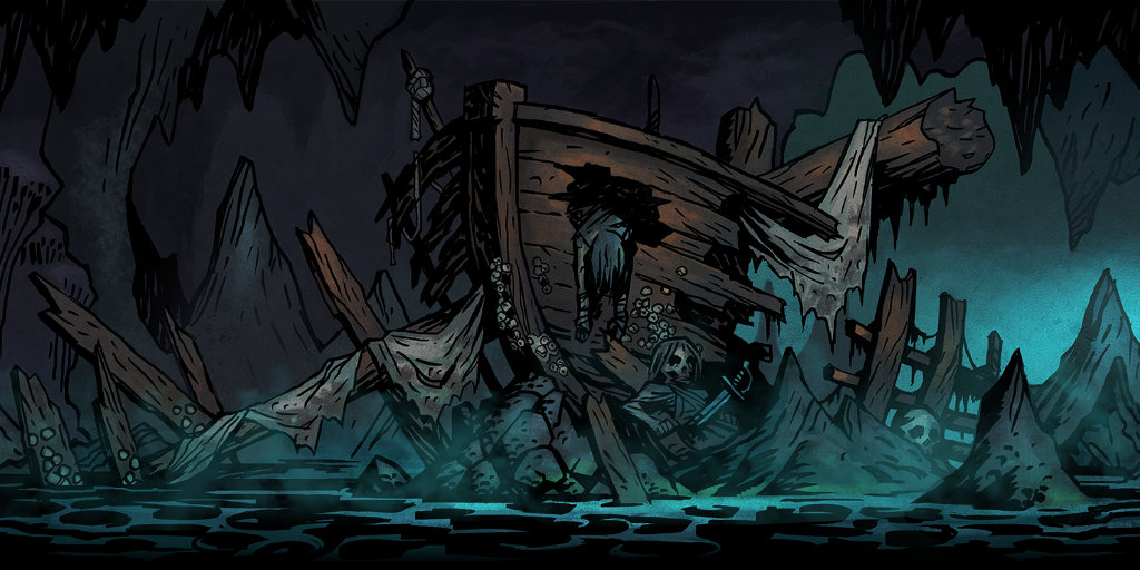 Cove Curios and Provisions - Darkest Dungeon