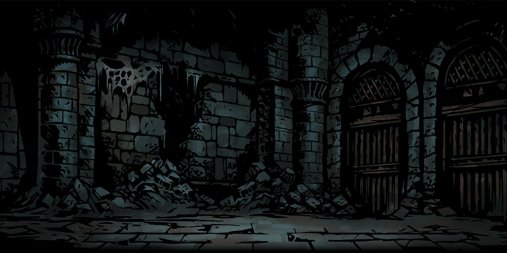 Darkest Dungeon Ruins: Curios, party and provisions
