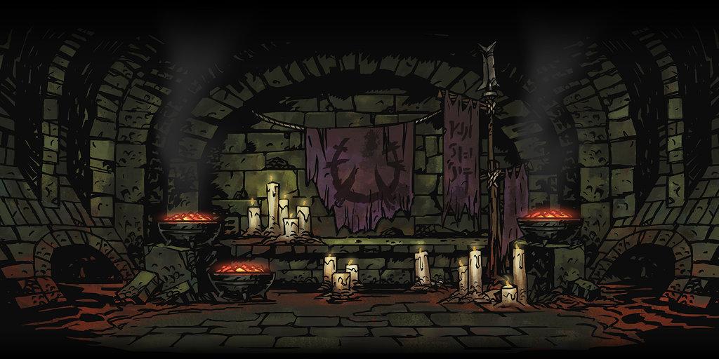 Tanières de Darkest Dungeon: Curiosités et provisions