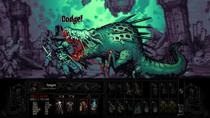 Pilleuse de tombes de Darkest Dungeon