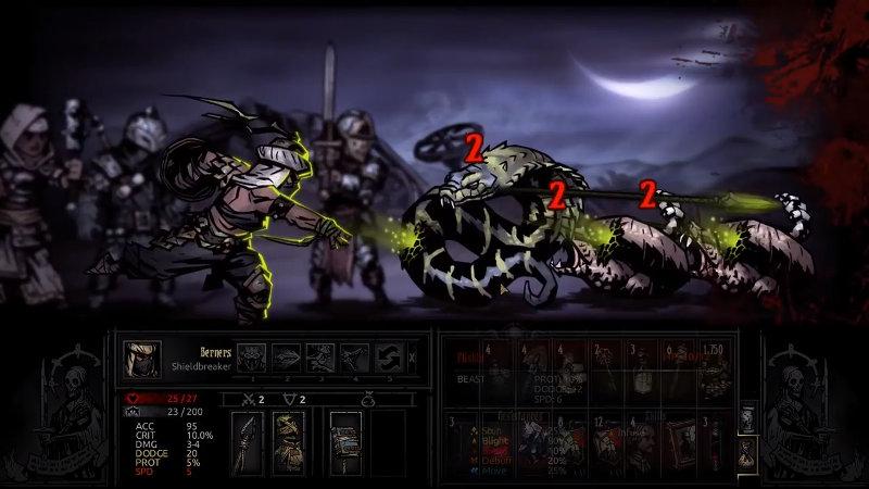 Brise-bouclier - Darkest Dungeon