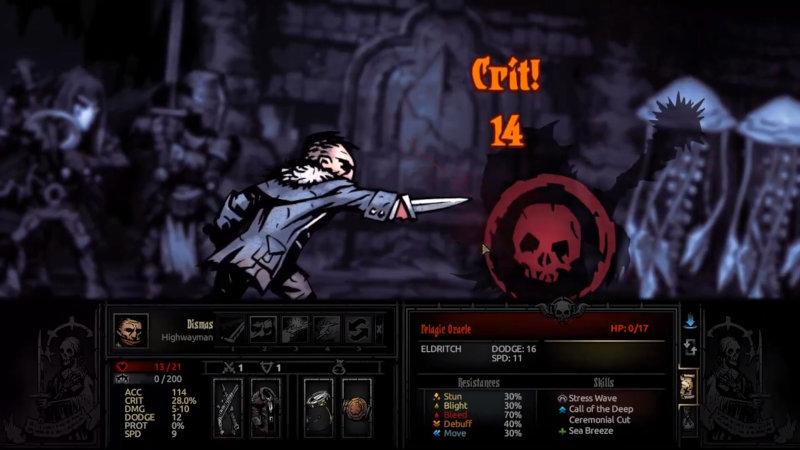 Bandit de Darkest Dungeon