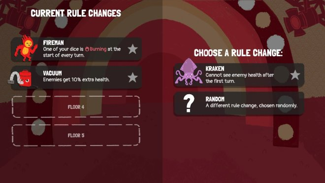Bonus round changes