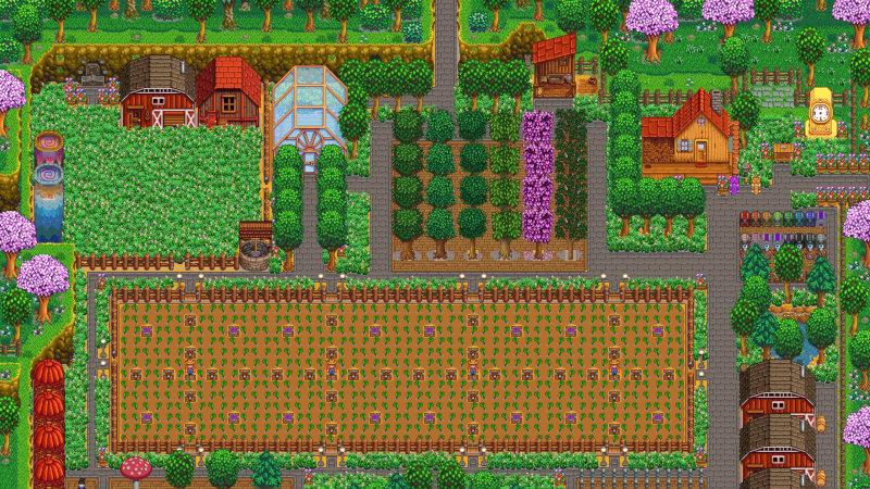 Farm layouts - Stardew Valley